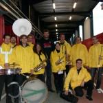1er Sept. 2012 : La Barquette  de la Philhar est avec Lionel Nallet pour un match du LOU au Matmut Stadium