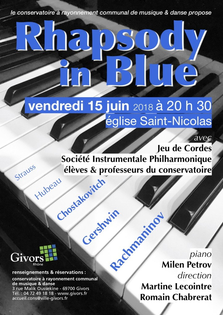 concert Rhapsody in blue