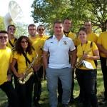 22 Sept. 2012 : La Barquette de la Philhar participe au 100ans du SOG Rugby en présence de Sylvain MARCONNET